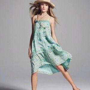 Calypso St. Barth Carstens Prism Silk Dress